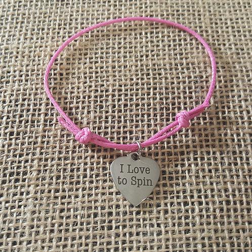 Love to Spin Charm Bracelet
