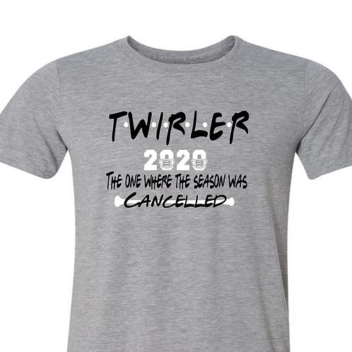 """2020 Twirler """"friends"""" - Grey"""