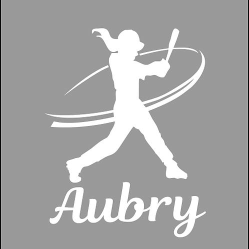 Softball Batter - Personalized