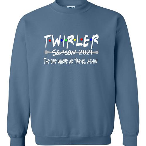 Twirler 2021 crew sweatshirt