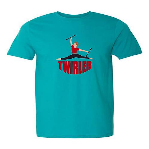 Twirler Red Shirt Guys