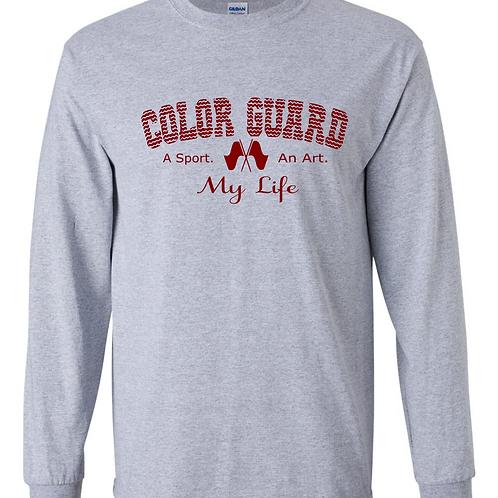 L/S Grey - Color Guard