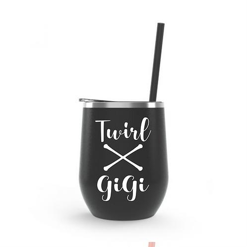 Wine Tumbler 12oz -Gigi