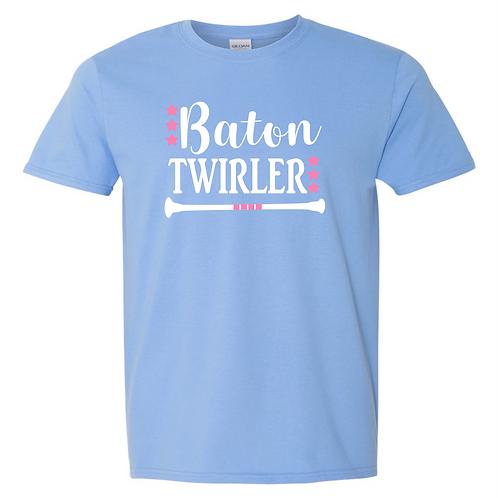 Fancy Baton Twirler Tee