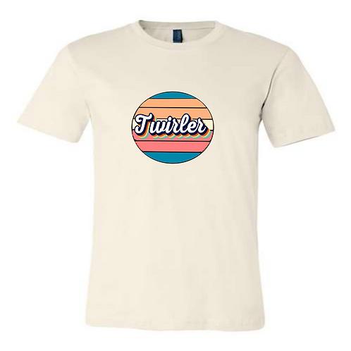 Retro Circle Twirler ( 2 colors)
