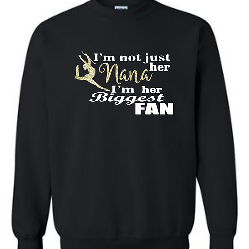 Biggest Fan Crew Sweatshirt