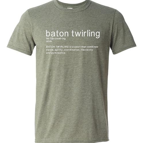 Baton Twirler Defined