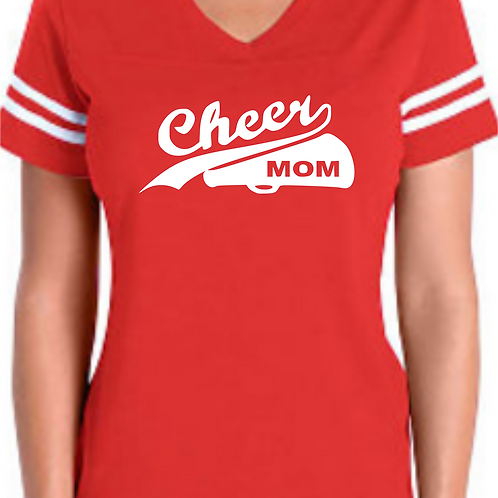 Cheer Mom - Red Jersey