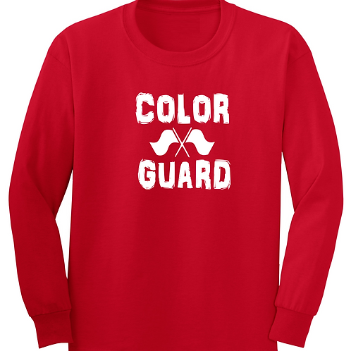 L/S Distressed Color Guard