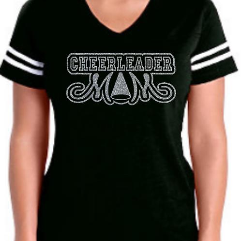 Cheerleader Mom - Black Jersey