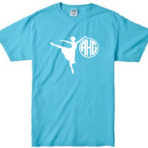 Personalized Dance Tee - Comfort Color