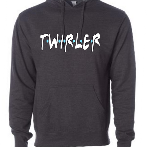 Twirler - Friends Hooded