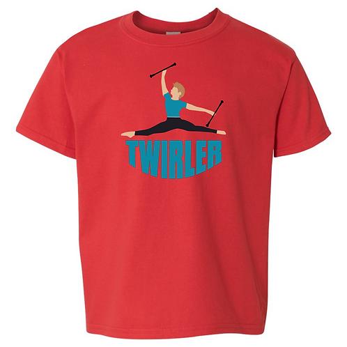 Twirler Guy - Red shirt