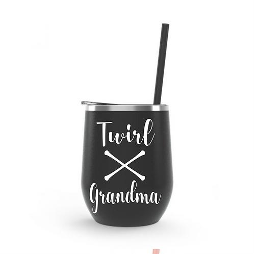 Wine Tumbler 12oz -Grandma