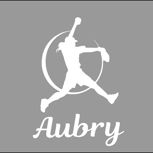 Softball Pitcher - Personalized