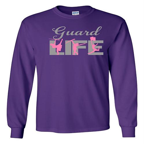 L/S Grey -Guard Life