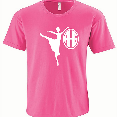 Personalized Dance Tee - Ballet
