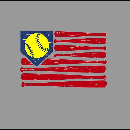 Softball Flag