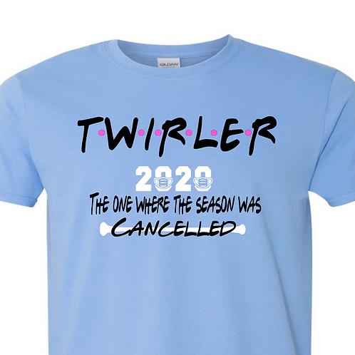 """2020 Twirler """"friends"""" - Blue"""