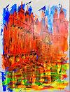 Erfurter Dom gezeichnet von Tina Reichel