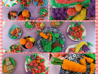 Fruit and Veg Made of Clay - Food Dudes
