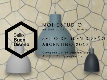 Sello de buen diseño Argentino 2017