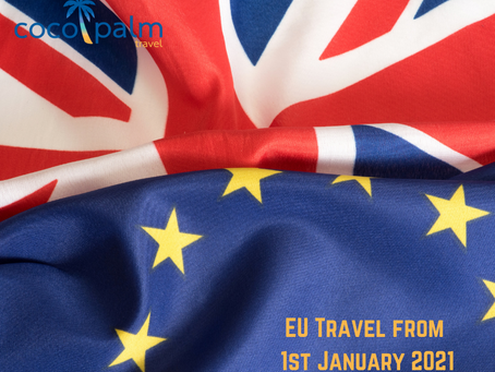 EU Travel from 1st January 2021