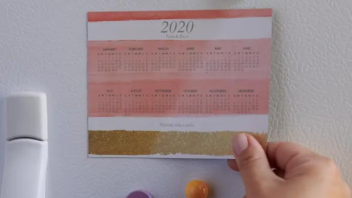 Magnetic Calendars