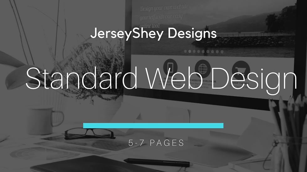 5-7 Page Web Design