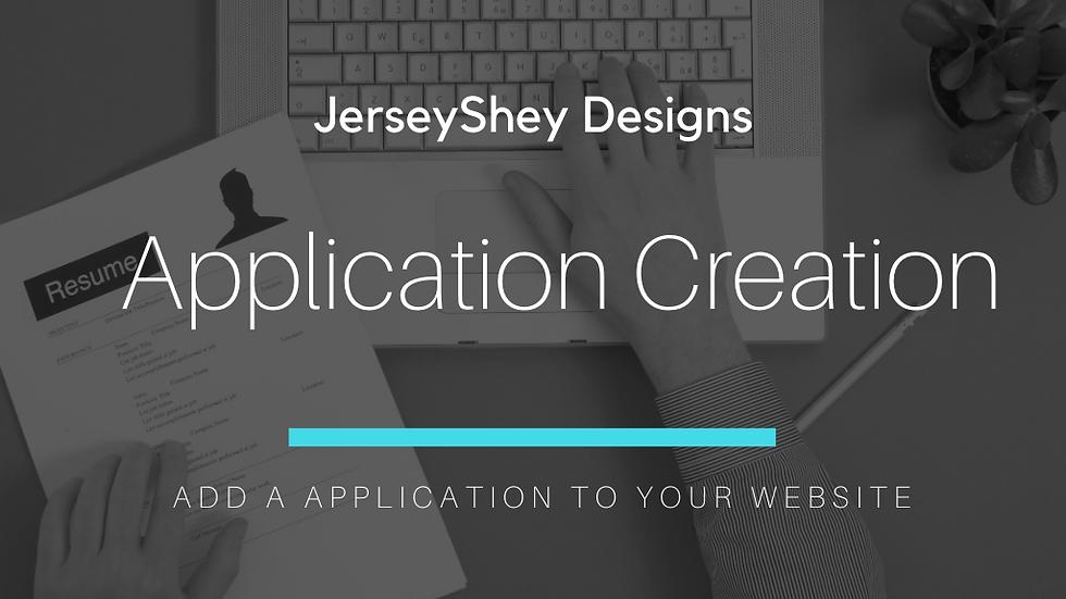 Application Creation