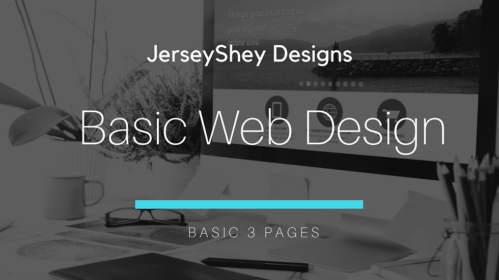 3 Page Website