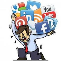 Don't carry your social media