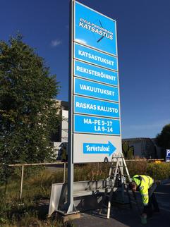 Mainostorni,EPn_Katsastus,Seinäjoki,Mai