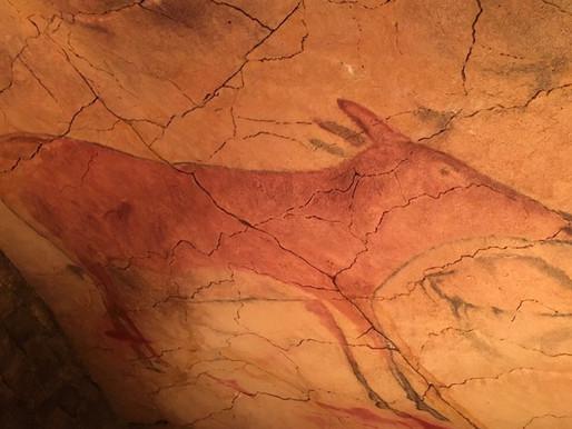 Бизоны в пещере Альтамира
