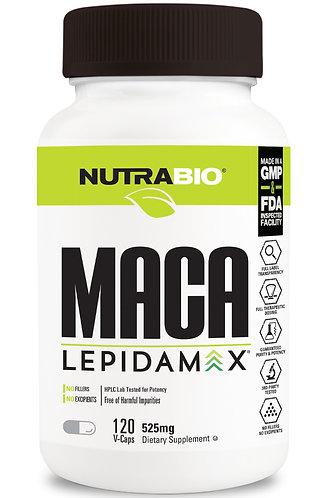 Nutrabio Maca Lepidamax (525mg) 120 Vegetable Capsules