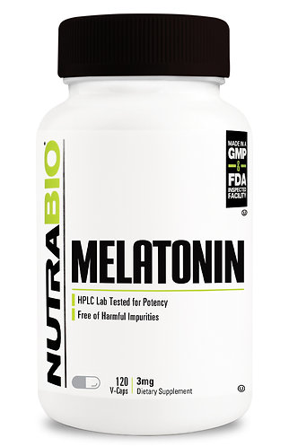 Melatonin (3mg) 120 Vegetable Capsules