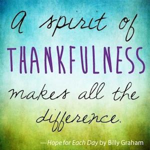 Thankful Tuesday