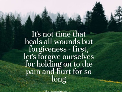 Time heals all wounds, or does it?