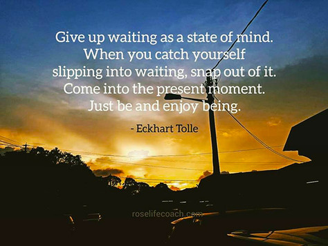 The grace in waiting