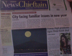 Poway News Chieftain Article