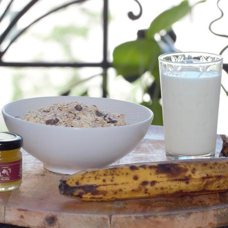 3 petits déjeuners - healthy, rapides et délicieux