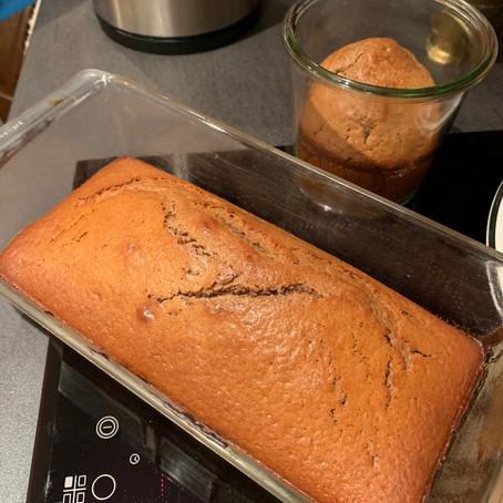 Le gâteau confinement - au miel bio de forêt, noisettes et farine de châtaigne