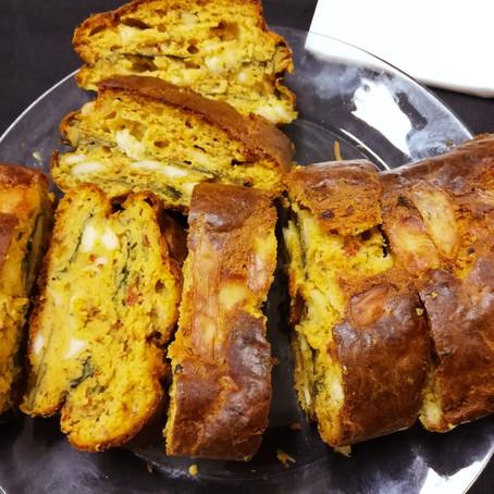 Les recettes du tea time - cake salé à la lyutenitsa