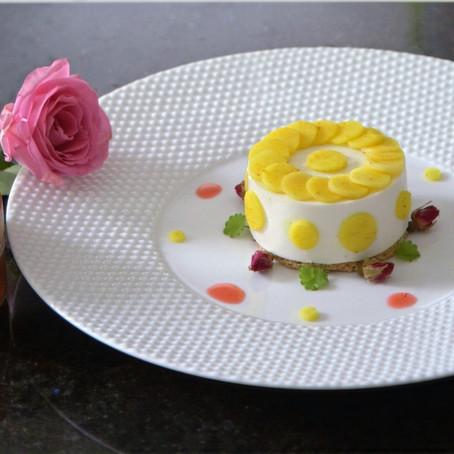 La rose en entrée, plat et dessert - Recettes par Frédéric Jaunault