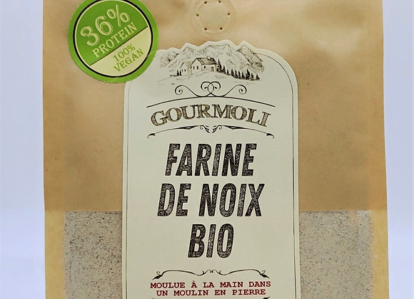 Farine de noix bio - 300g - vegan, sans glute, 36% de protéines
