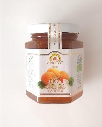 Confiture d'abricot bio 230g