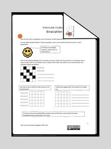 Informatik Challenge 5: Binärzahlen