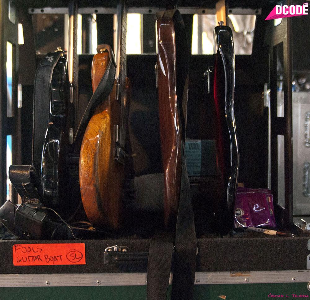 Foals guitars