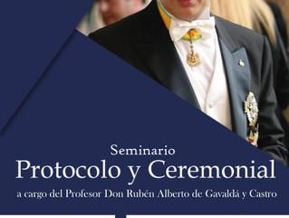 Seminario de Ceremonial y Protocolo NOA 2018