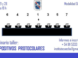 Seminario taller intensivo sobre Dispositivos Protocolares